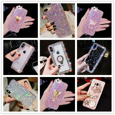 For Samsung Galaxy Note 10 Plus Bling Glitter Girls Women Cute Phone Case Cover