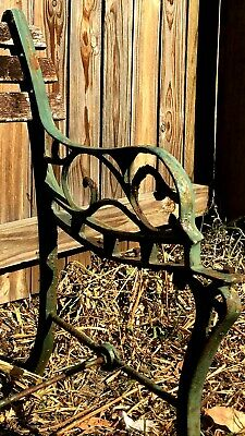 Cast Iron Antique Bench Seat Ends