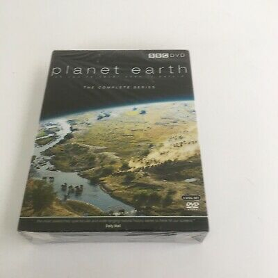 David Attenborough Planet Earth DVD. Complete Series. 2006. New And sealed.