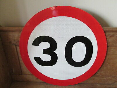 30 MPH road sign. road sign. traffic sign.street sign