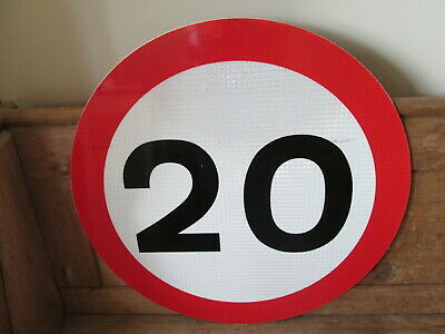 20 MPH road sign. road sign. traffic sign.street sign