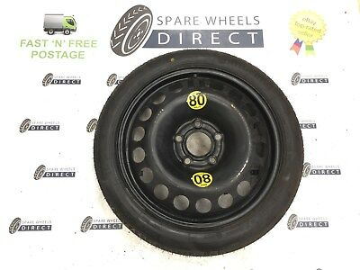 "2005 - 2011 Vauxhall Zafira 16"" Spare Space Saver Wheel Spare Steel Alloy (Gm1)"