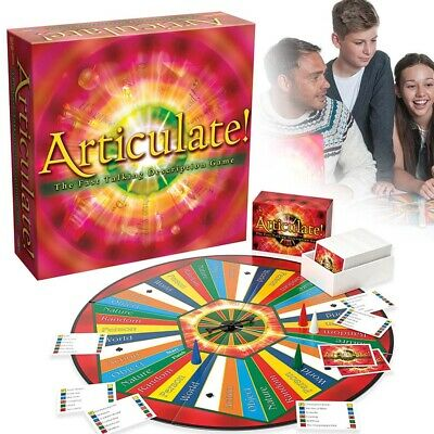 Articulate Fast Talking Description Board Game Describe Word Family Play Set
