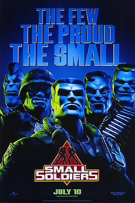 Small Soldiers (1998) Original Movie Poster -  Rolled Advance The Few, The Proud