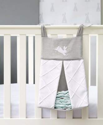 NEW Mamas and Papas Neutral Welcome to World Bunny Nursery Nappy Stacker