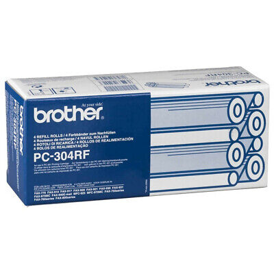 Genuine Brother PC-304RF fax 4 refill rolls