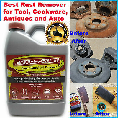 Evapo-Rust ER012 The Original Super Safe Rust Remover Non-Toxic Water-based 32OZ