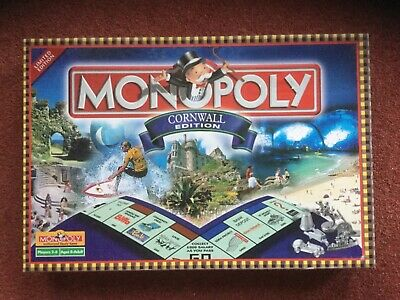 Cornwall Monopoly Board Game Brand New - Limited Edition