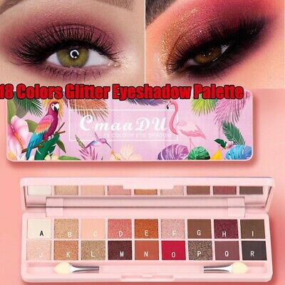 Beauty Glazed Makeup Eyeshadow Palette 18 Colors Shimmer Eye Shadow Makeup