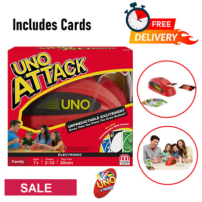 UNO Card Game, UNO Attack! Game For Kids Or Adult, Family game