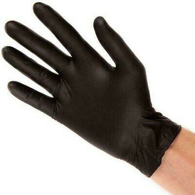 Black Mamba Nitrile Gloves Large - 10 pairs FREE DELIVERY
