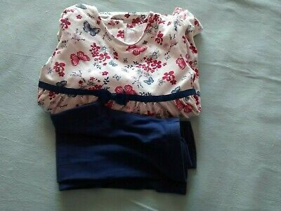 Girls Top & Leggings Age 2/3 Years By M&Co
