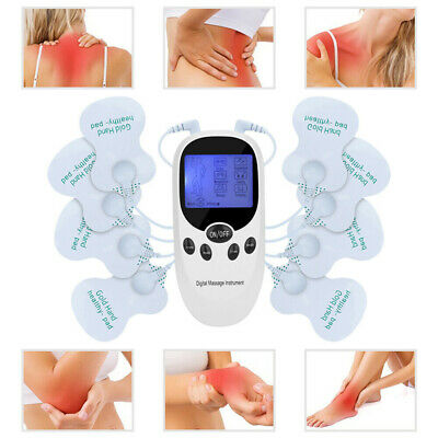 Tens Machine Unit Pain Relief Massager Acupuncture Muscle Stimulator Therapy AU