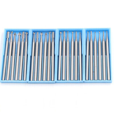 6Pcs Wood Carving Knife Woodworking Milling Cutter Set 3/32'' Shank Router Bits