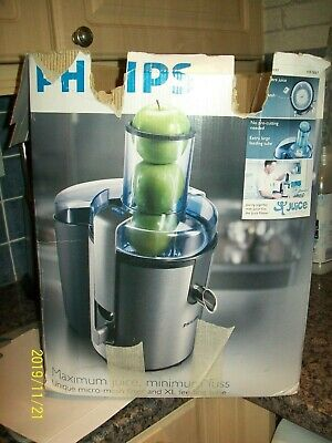 PHILIPS HR1861 WHOLE Fruit Very Healthy Juicer Smoothie and