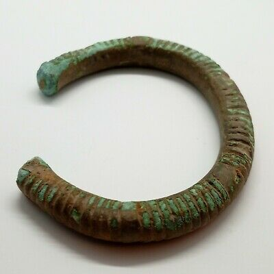 Bronze Art Massive Bracelet  / Ornament /   1000-600BC. Celtic Scythian Koban