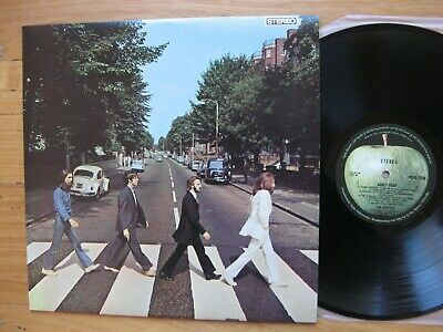 THE BEATLES - Abbey Road LP - EX+ / MINT Australia press -APPLE LABELS -ONE PLAY