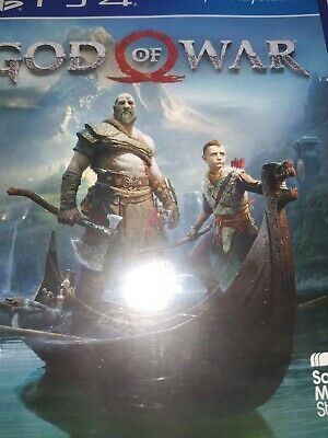 God of War (PS4) - Game  GYVG santa Monica studio preowned notes attached vgc