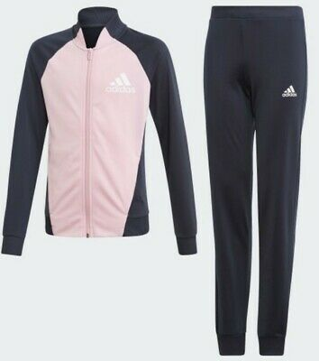 Adidas PES Tracksuit Junior Girls Kids Age UK 4 /5/6/7/8/9/10/11/12/13/14/15