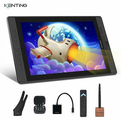 "15.6"" Huion Graphics Drawing Tablet Monitor Screen Pen Display as XP-PEN Artist"