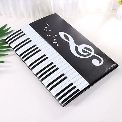 A4 Sheet Document Folder Expanded Size Piano Score Music Accessories Organizer