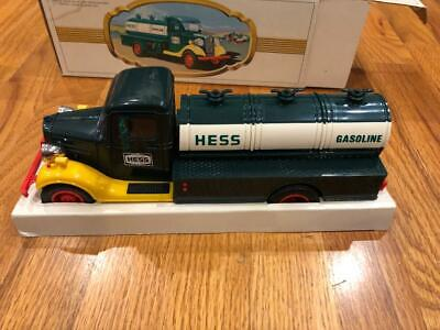 1982 The First Hess Toy Truck Original Box With Inserts Unplayed With Free Ship.
