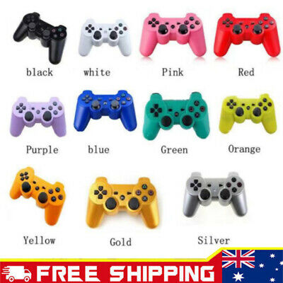 1/2X Premium Dual Shock Wireless Bluetooth Game Controller For PS3 PlayStation3