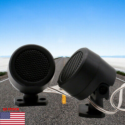 2x500 Watts Stereo Car Audio Super Power Loud Dome Tweeter Speakers For Car 500W