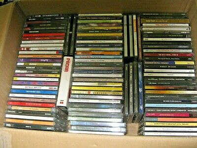 CD Albums - Bulk Lot of 120 Various Titles - No Duplicates - Fully Listed = BOXC