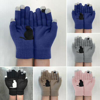 Ladies Gloves Women Outdoor Gloves Winter Fashion Cycling Autumn 2pcs/Pair
