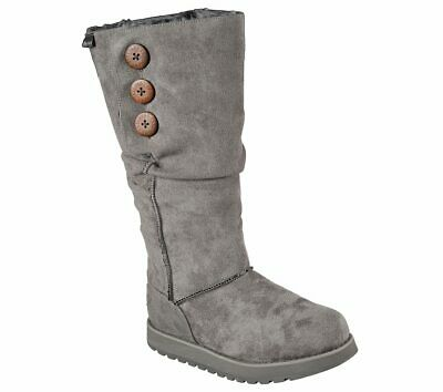 WOMEN'S SKECHERS GREY KEEPSAKES FREEZING POINT boots 48820