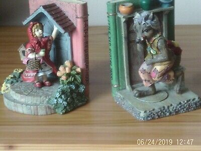 Bookends Little red riding hood good condition