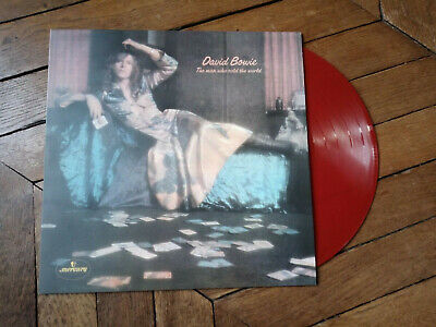 DAVID BOWIE The man who sold the world Lp Vynil couleur