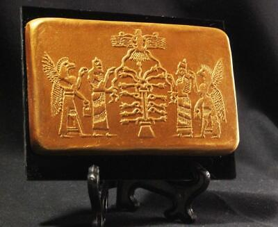 TREE OF LIFE Assyrian Cylinder Seal Impression 900 BC ancient replica