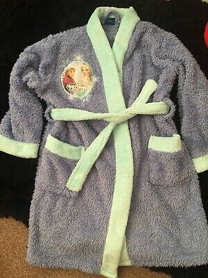 Frozen Girls Dressing Gown Age 5-6 Years