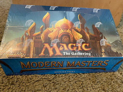 Modern Masters 2013 Booster Box New Sealed English Magic the Gathering Cards MTG