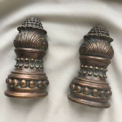 Bronze coloured Luxurious Ornate bookends