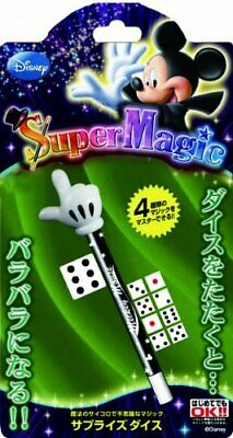 Tenyo Magic Trick Suprise Dice Disney Mickey Mouse Super Magic Japan