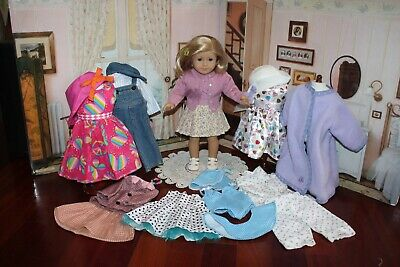 American Girl Doll Classic Kit, Minty Displayed Condition! Period Wardrobe! EUC!