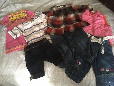 Baby Girl Trendy Winter Clothing Bundle 6-9 months
