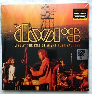 The Doors Live At The Isle Of Wight Festival 1970 RSD Black Friday Vinyl *SEALED