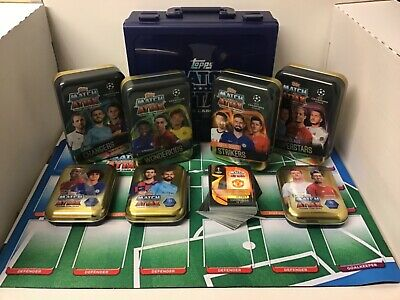 TOPPS MATCH ATTAX 2019/20 19/20 100 CARD BUNDLE inc LIMITED EDITION + ACCESSORY