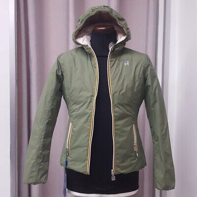 Kway K-Way K002Ii0 Lily Thermo Plus Double 14Anni 250€.Yunior A47 Green-Pink L