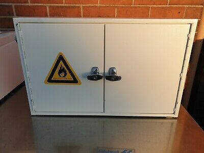 Small Fire Resistant Chemical Cupboard Double Door.