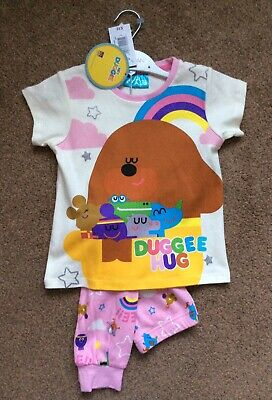 BNWT Matalan Hey Duggee Girls Pjs Pyjamas Size Age 4 Years Rrp £12
