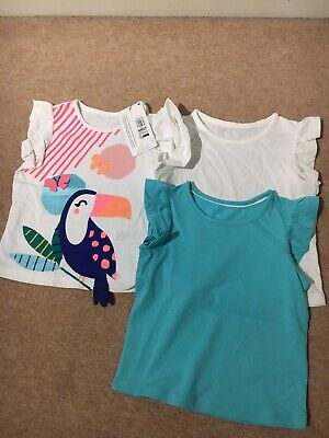 Marks And Spencer Girls 3 Pack Tops 12-18 Months