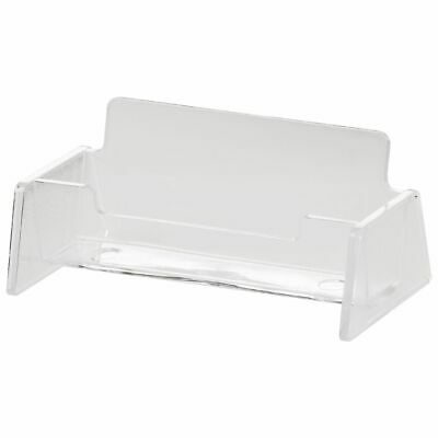 J.Burrows Business Card Holder Clear