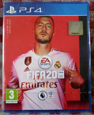 FIFA 20 (PS4) - Brand new/sealed - Free UK P&P - Same day despatch