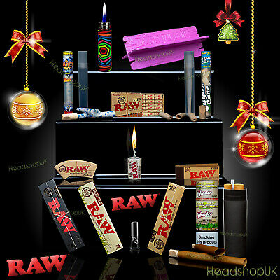 RAW Smoking Papers Christmas XMAS Gift Packs rolling gift
