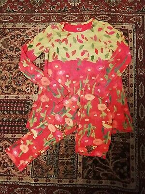 Oilily tunic and leggings set age 10